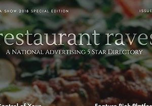Five Star Restaurant Review Directory Site, Restaurant Raves, Redefining Advertising