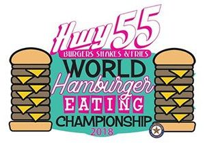 Hwy 55 Burgers, Shakes & Fries and All Pro Eating Set For 2nd Annual World Hamburger Eating Championship in Raleigh after Hosting World Hamburger Eating World Record in Year One