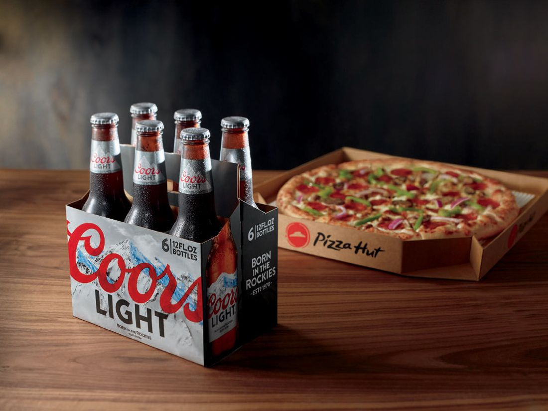 Pizza Hut Expanding Beer Delivery Pilot To Nearly 100 Restaurants In Arizona And California