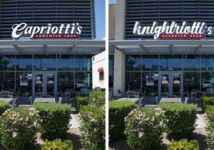 vegas capriotti's changes company name and logo to #nocaps for stanley cup final