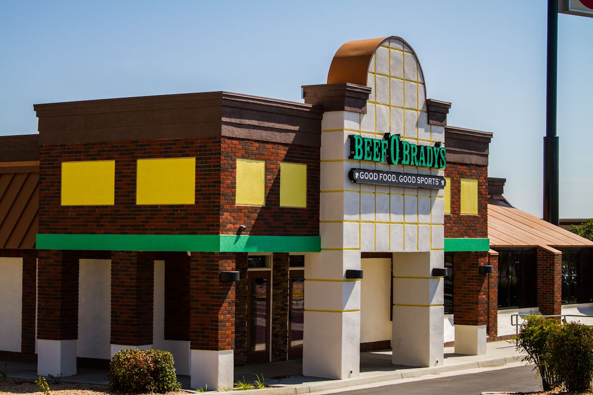 Beef 'O' Brady's Celebrates Strongest Quarter in the Company's 30-Year History
