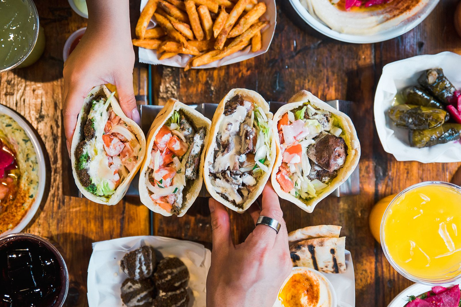 Iconic NYC legacy brand, Mamoun's Falafel, is celebrating the Grand Opening of its first Long Island outpost in Syosset, NY (408 Jericho Turnpike) on Saturday, July 7 at 11 AM.