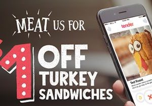 Meat Potbelly Sandwich Shop's Edible Bachelors During National Turkey Lovers' Month