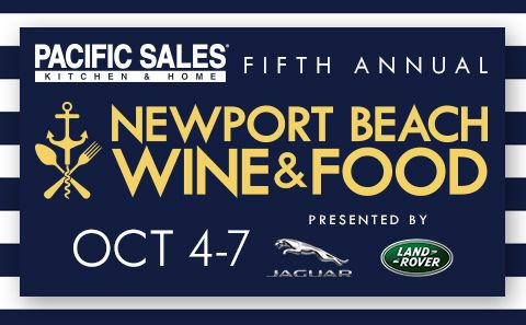 The Newport Beach Wine & Food Festival, one of Southern California's most highly-acclaimed food and wine events, is returning for its fifth year on October 4-7, 2018. All four days are packed with VIP events ranging from private chef dinners to yacht parties, as well as opportunities for all guests to rub elbows with James Beard award-winning chefs, Food Network & Top Chef stars, and enjoy tastings from over 40 of Orange County's top restaurants and wineries.