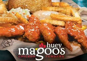 "Enjoy FREE Sauce On Your Tenders With Huey Magoo's ""Flavor Of The Month"" Promotion"