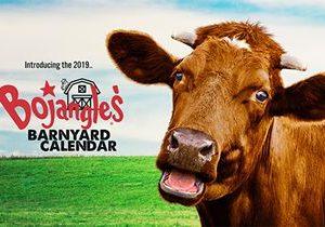 Holy Cow! A Free Printable 2019 Bojangles' Barnyard Calendar