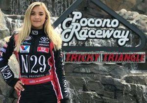 Natalie Decker Names Shoney's as Her Team's Primary Sponsor at Pocono