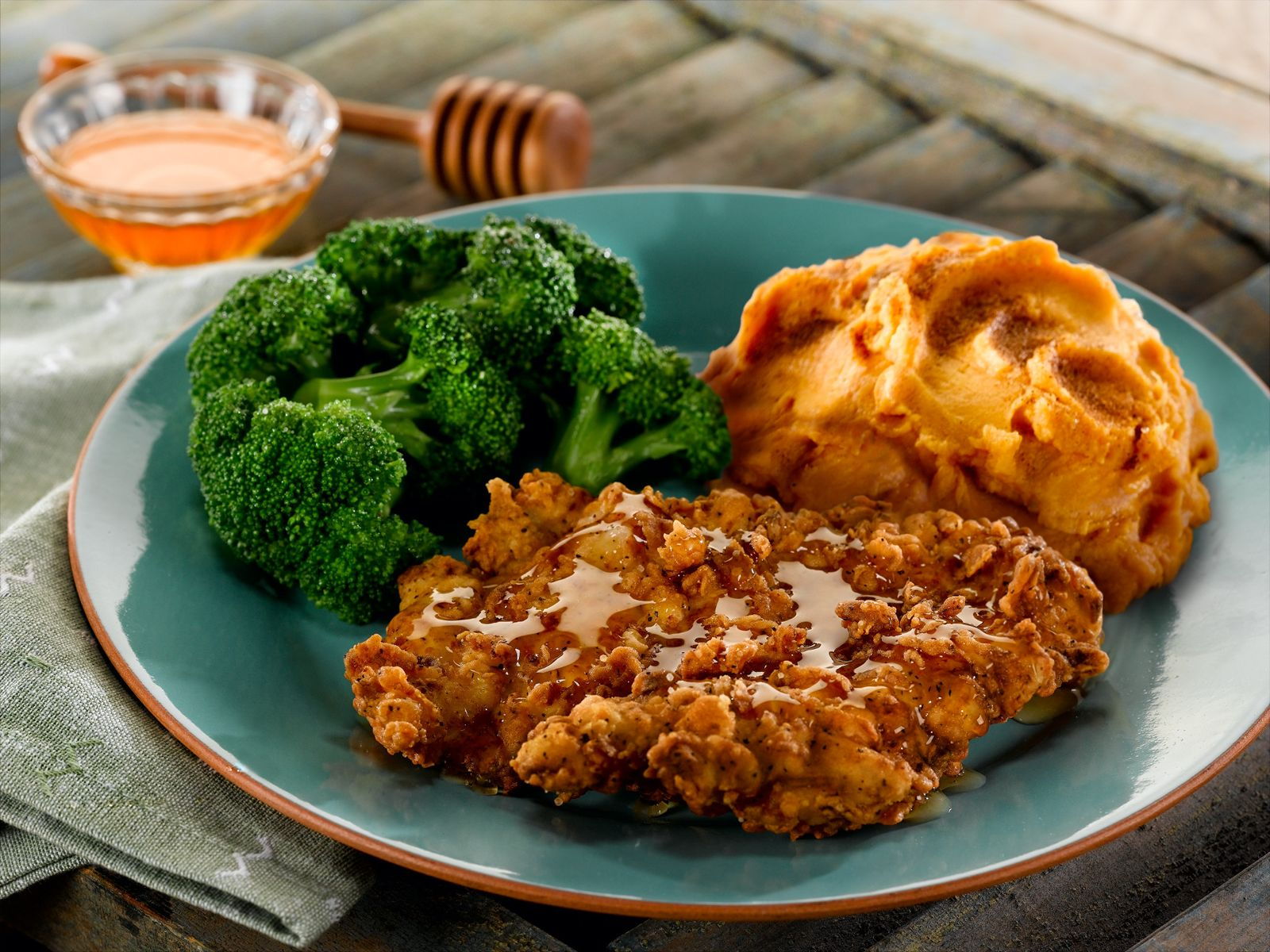 O'Charley's Honey-Drizzled Southern Fried Chicken