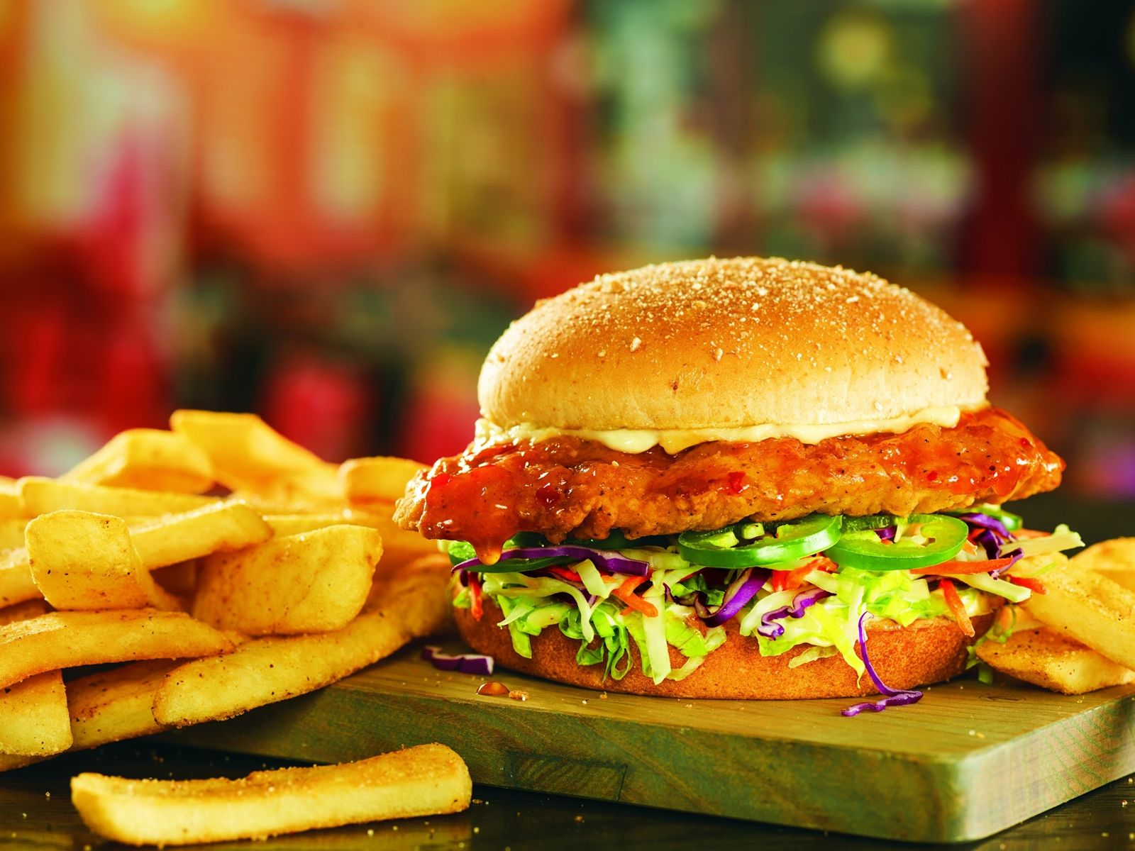 Red Robin Gourmet Burgers and Brews Island Heat Crispy Chicken