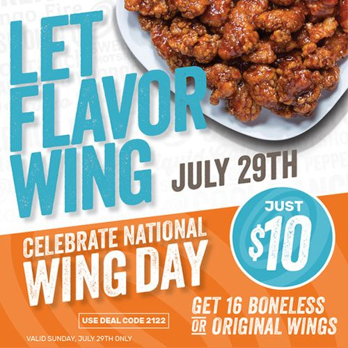 Wing Zone Spreads Beyond Wings with Launch of New Menu
