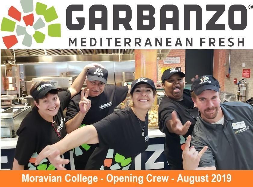 Garbanzo Brings Fresh Mediterranean to Moravian College