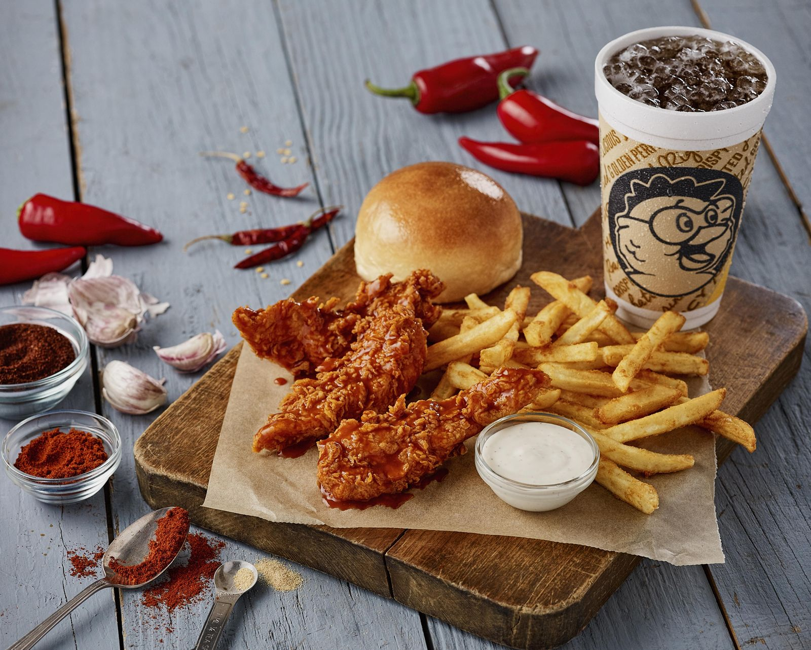 Golden Chick Brings the Heat with New Advertising Campaign and Chipotle Buffalo Tenders