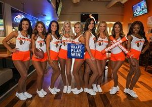 Hooters is the #1 Pick to Host your Fantasy Football Draft