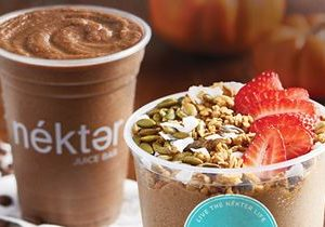 Nékter Juice Bar's Seasonal Fall Specials Offer a Full Day's Worth of Delicious Flavor and Energizing Nutrition