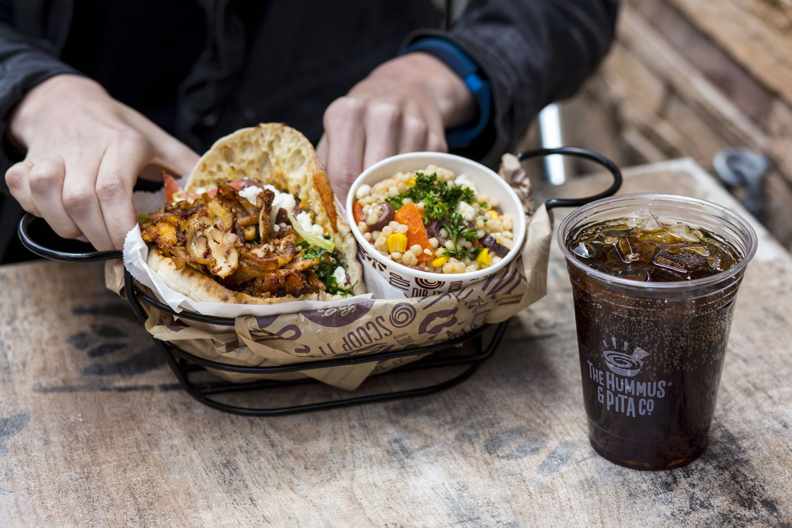 The Hummus & Pita Co. will officially begin its nationwide expansion with the opening of its first franchised location in Brookfield, CT (15 Federal Road) on Saturday, August 11.