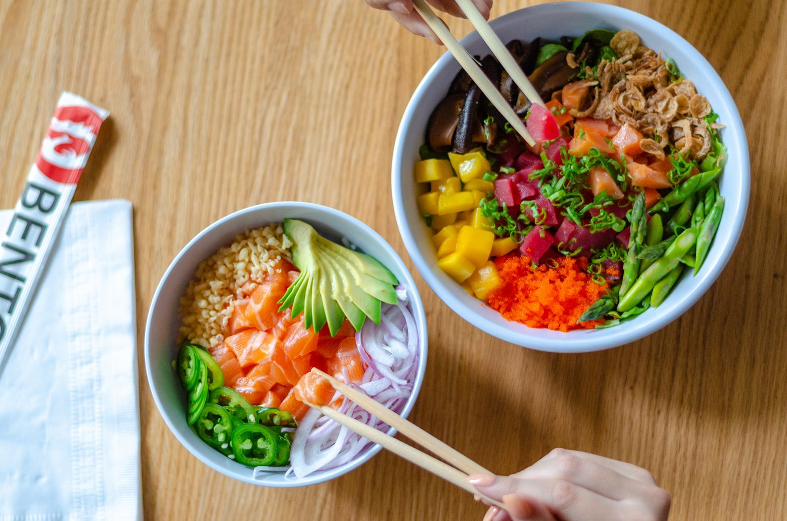 Bento Introduces New Mini Poke Bowls Bento Cafe