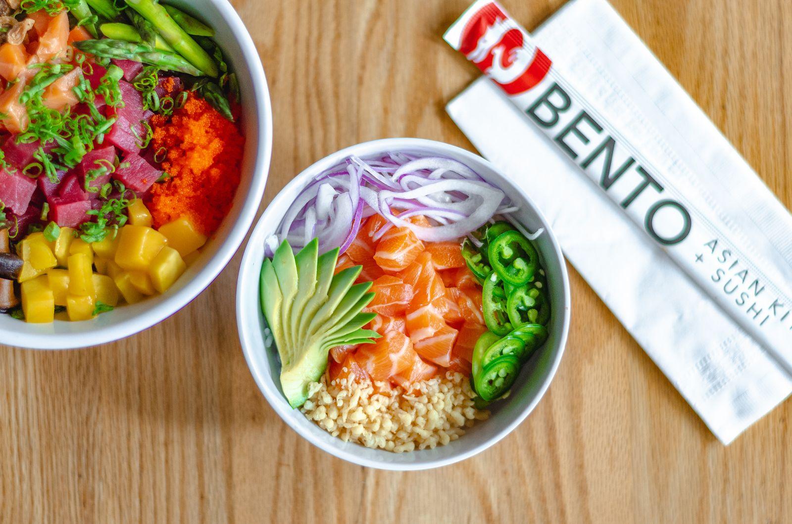 Popular Pan-Asian Restaurant Bento Introduces New Mini Poké Bowls