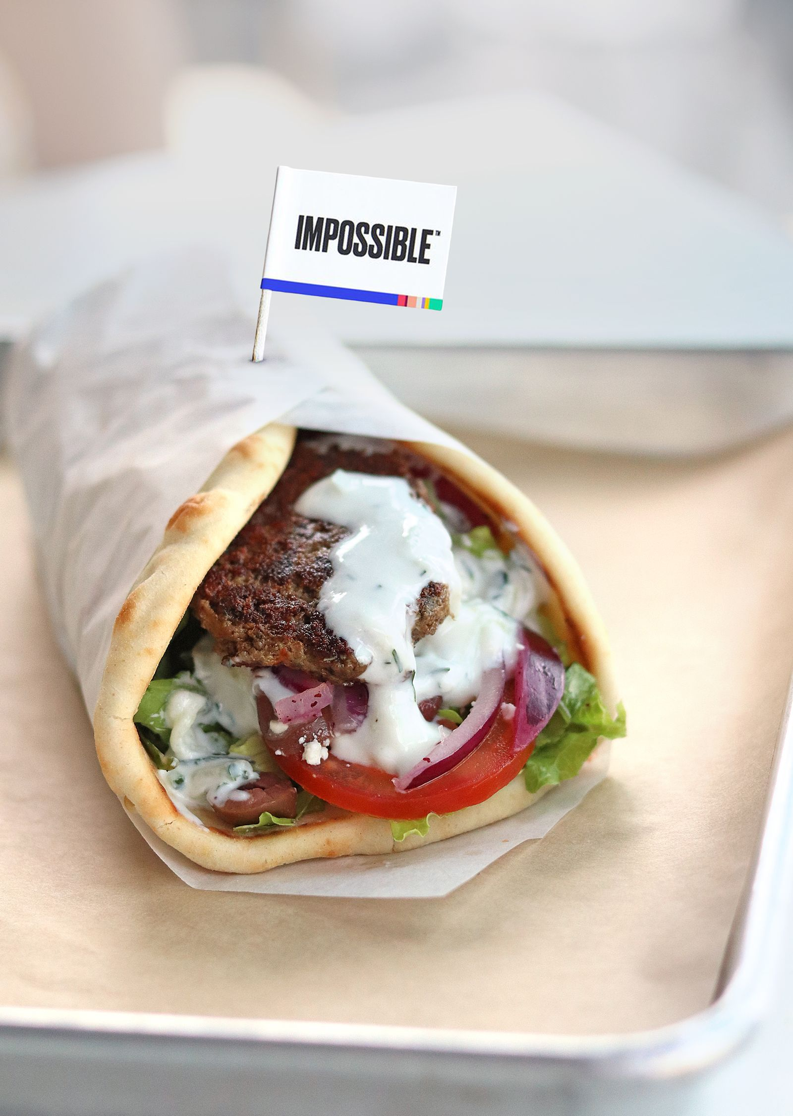 Yalla Mediterranean Offers Plant-Based Options with Impossible Foods