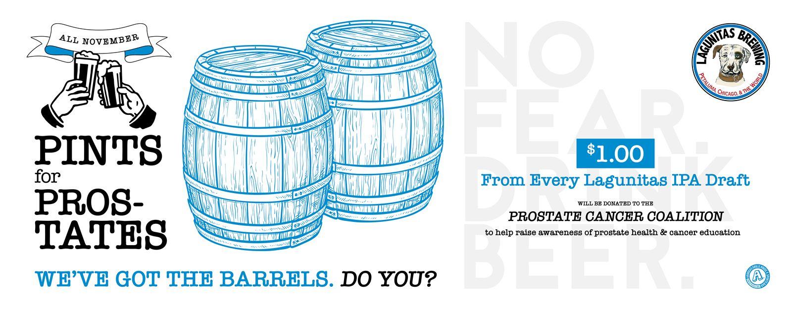 Arooga's Celebrates NovemBeer with Pints for Prostates