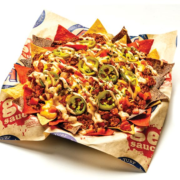 Arooga's Grille House & Sports Bar Impossible Nachos