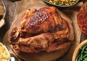 Cowboy Chicken Is Cooking up Wood-Fired Rotisserie Turkeys for the Holidays