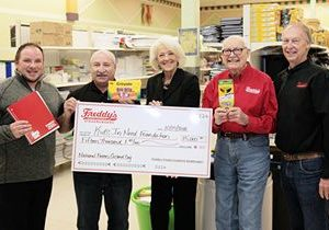 Freddy's Donates $15,000 to Kids in Need Foundation