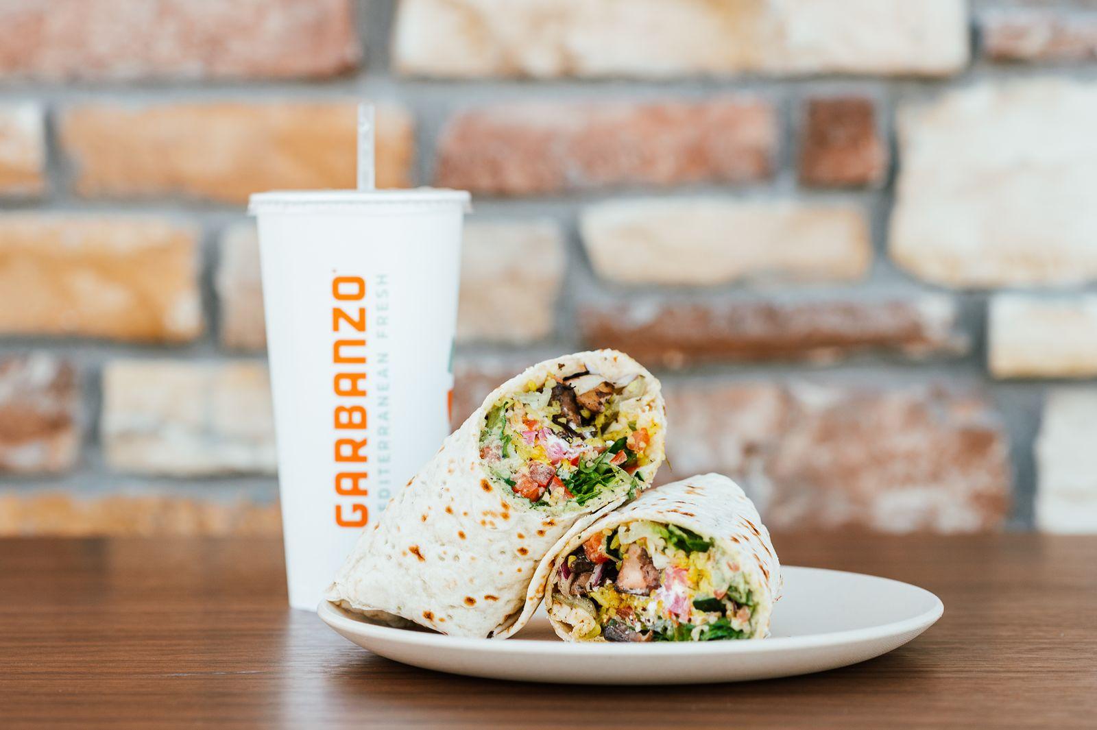 "Garbanzo Mediterranean Fresh ""Rolls Out"" The Mediterranean Version of The Burrito - The Laffa"