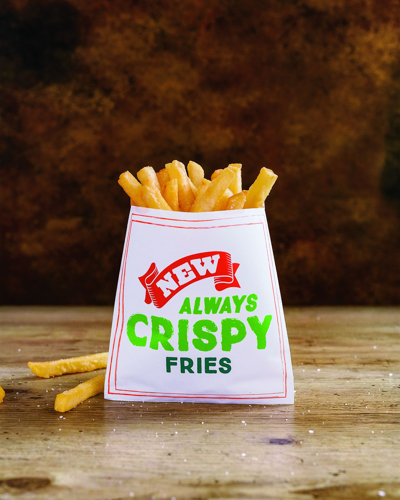 Farmer Boys has announced another chance for guests to score free fries! Visit participating locations on Friday, February 8 from 2-5pm to receive a free order of their new, 'always crispy' fries with purchase.