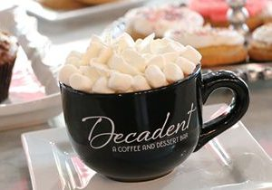 Decadent A Coffee and Dessert Bar Opens First Location in Houston, TX!