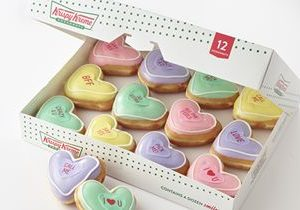 Say It with Valentine Doughnuts! Krispy Kreme Doughnuts Introduces Valentine 'Conversation Doughnuts,' Filling a Need and Enabling Fans to Express 'All the Feels'