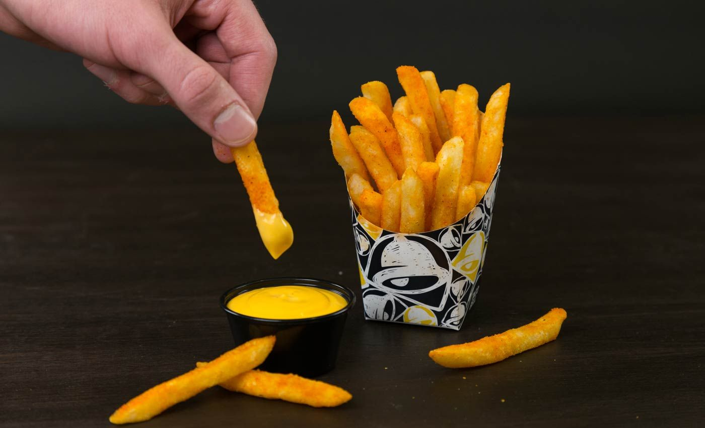 Now Serving At A Taco Bell Near You: Nacho Fries Are Officially Back