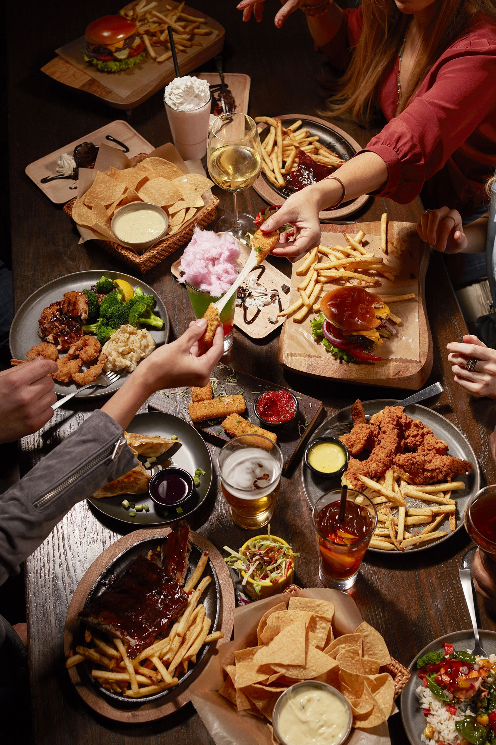 TGI Fridays Invites Guests To Forget Making Resolutions With A Menu Offer To Match