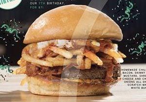 Grub Announces Weeklong Return of OMG Burger to Celebrate 7 Year Anniversary