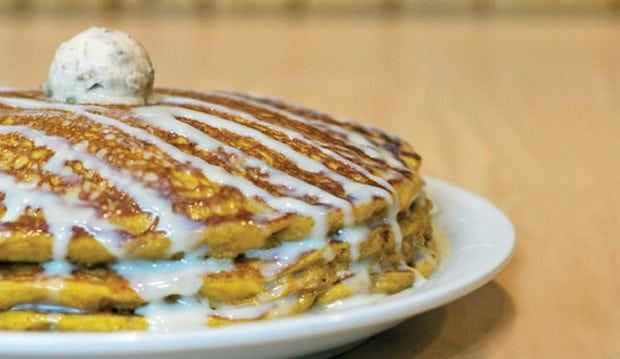 Our Pancakes Are so Fluffy You Could Sleep on 'Em
