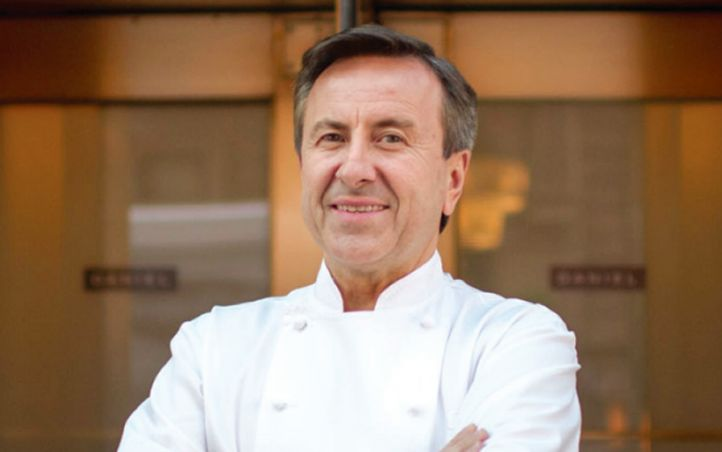 Celebrity Chef Daniel Boulud, owner of The Dinex Group.