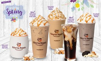 Tropical Flavors Star in Gloria Jean's Coffees' New Spring Menu