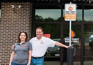 East Coast Wings + Grill Lynchburg Wins Best Restaurant Award