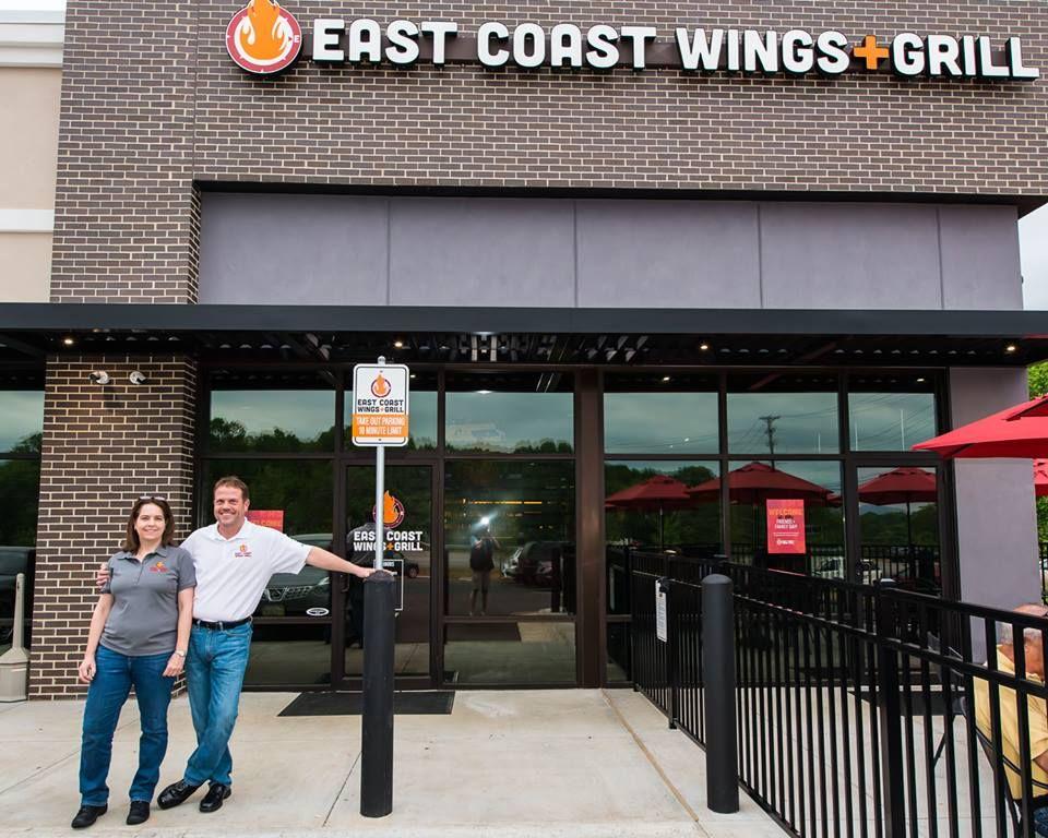 East Coast Wings + Grill Lynchburg Wins Best Restaurant Award