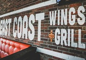 East Coast Wings + Grill Opens in Charlotte (Steele Creek)