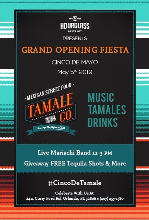 Tamale Co. Announce Grand Opening In The Hourglass District On Sunday, May 5