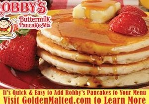 Add Robby's Buttermilk Pancakes to Your Menu – Exclusively from Golden Malted