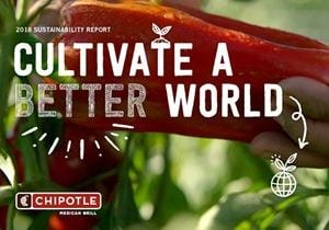 Chipotle Issues New Sustainability Report and Shares Progress on Waste Diversion Goal of 50% by 2020