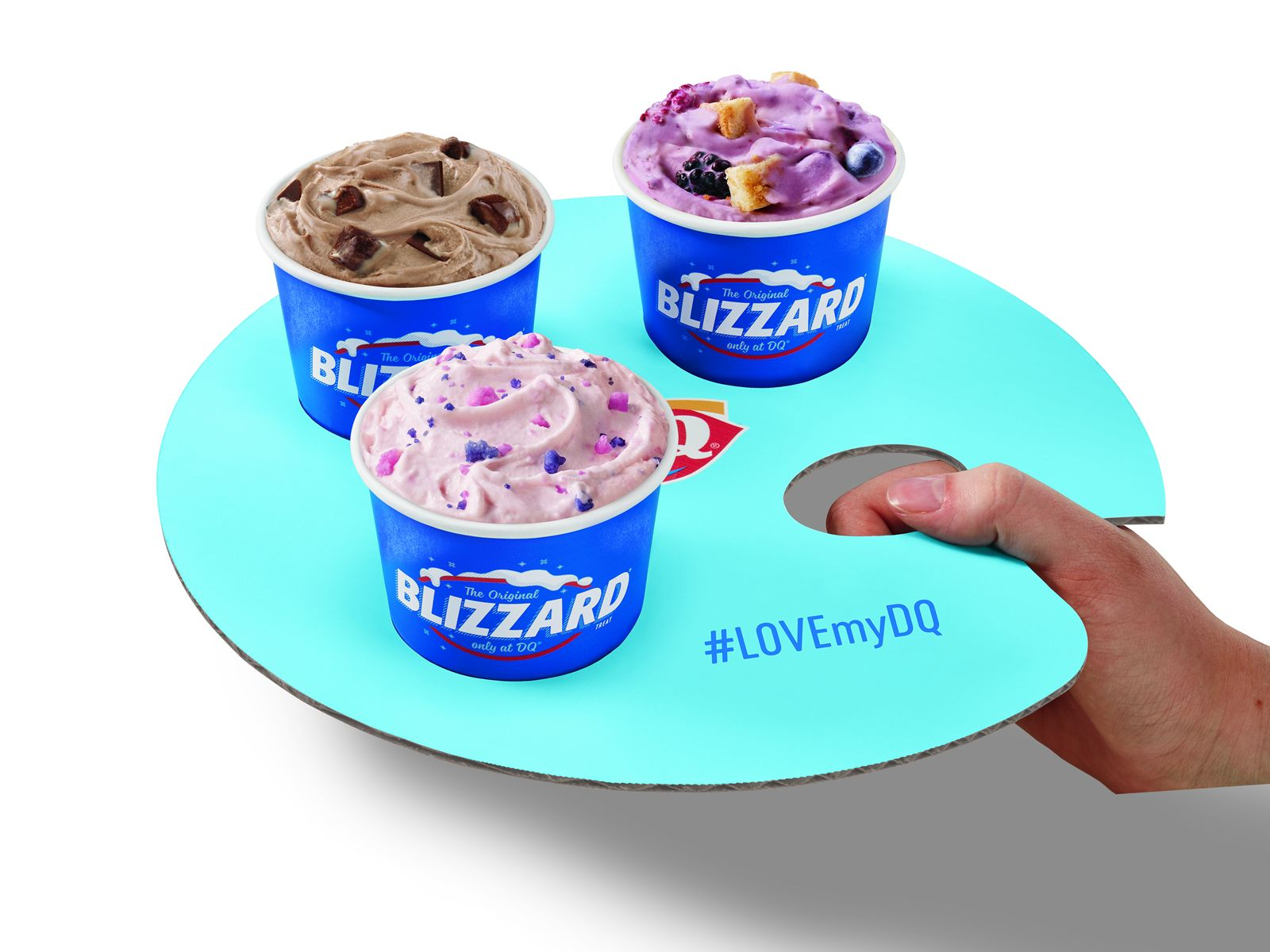 DQ Mini Blizzard Treat Flights
