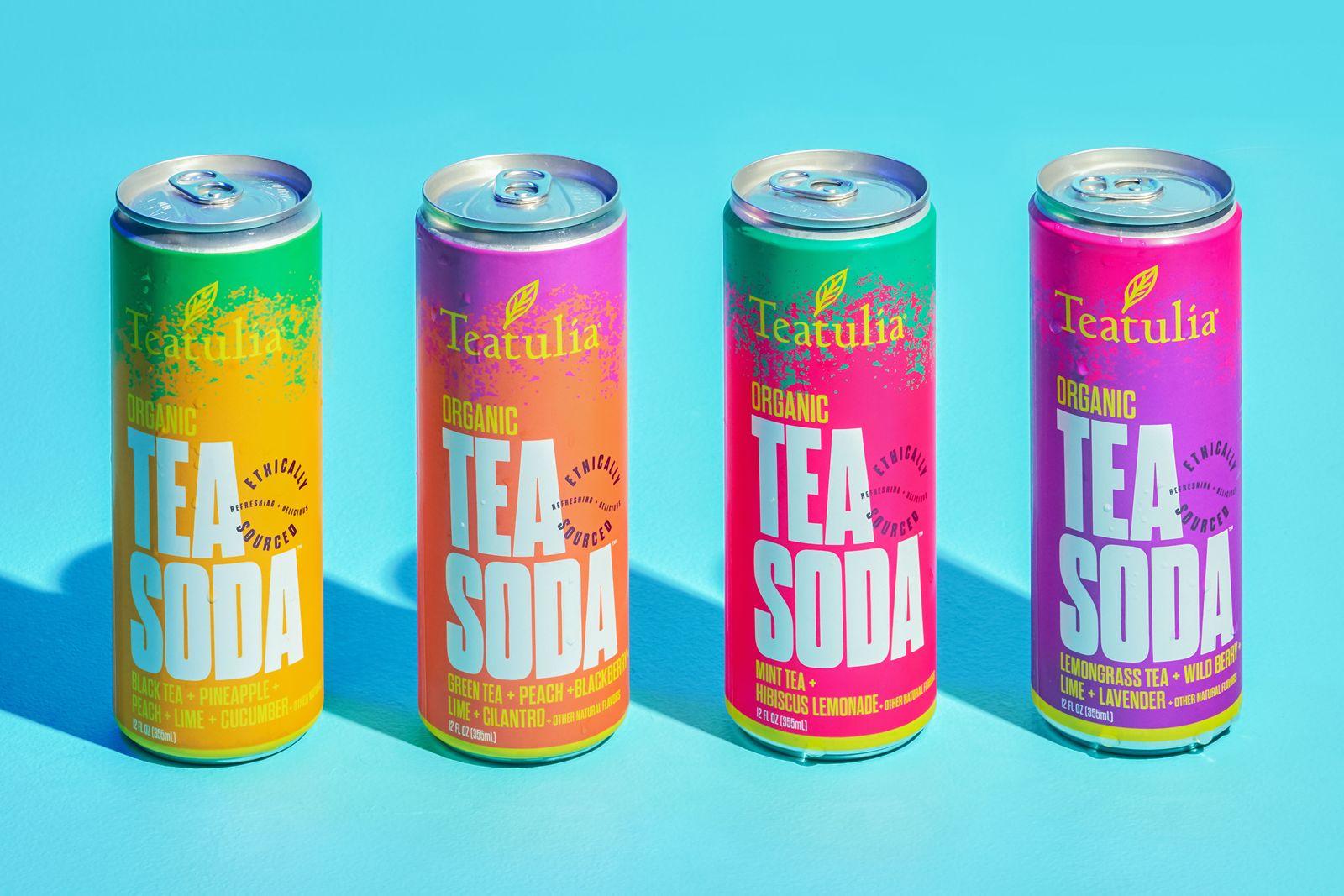 Teatulia Organic Tea Soda Launches in Whole Foods Market