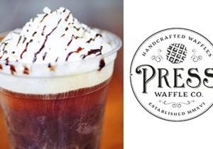 Cool Off with a Cold Brew Ice Cream Float at Press Waffle Co.