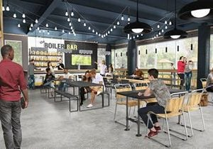 Crave Food Hall Brings Chef-Driven Fare to Purdue University's Discovery Park