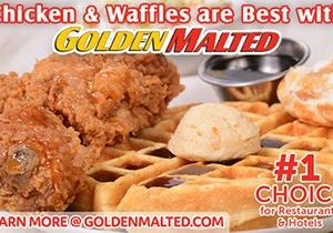 Add Chicken & Waffles to Your Menu – It's Quick & Easy with Golden Malted