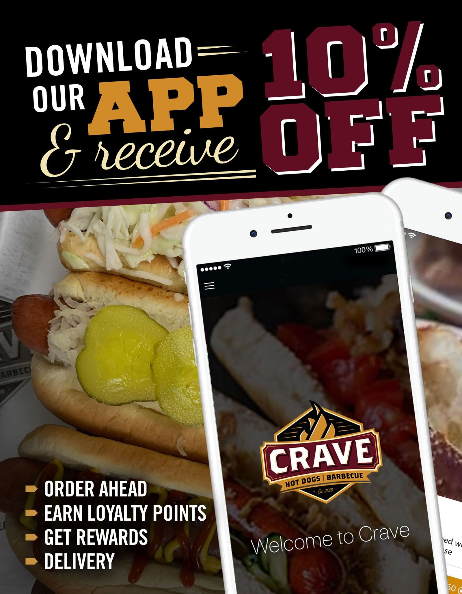 Crave Hot Dogs and BBQ in Wilmington NC invites the community to celebrate and remember of our Active, Veteran, and Fallen Military Personnel & First Responders