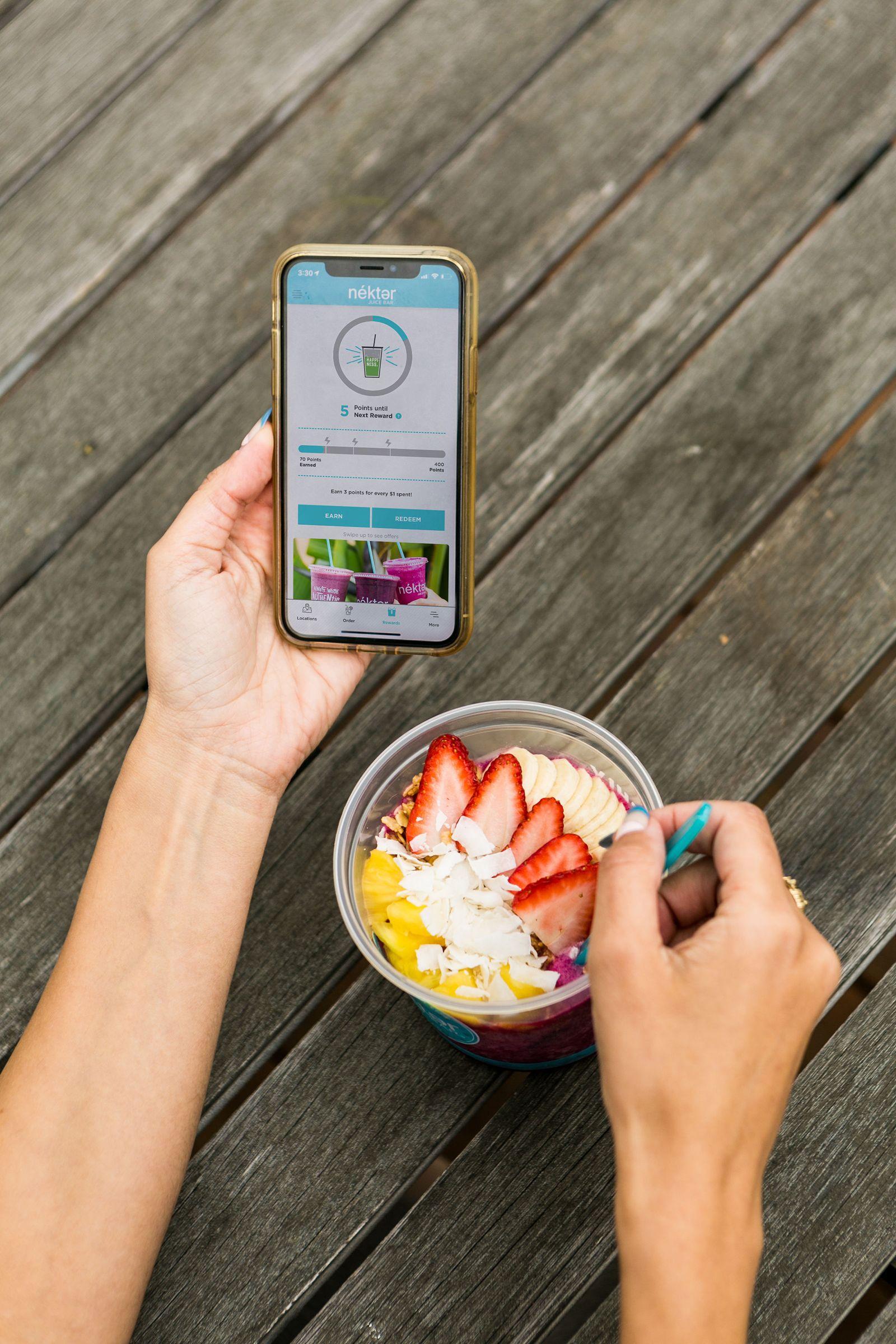Nékter Juice Bar's New Enhanced Loyalty Program Delivers Faster and Easier Rewards