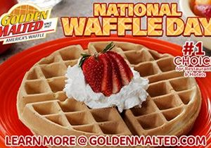 Celebrate National Waffle Day with America's Favorite Waffles – It's Easy with Golden Malted